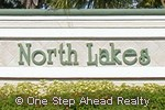 North Lakes community sign